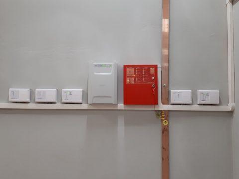 Автоматика порошкового пожаротушения